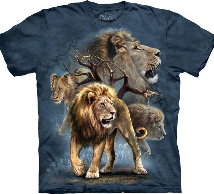 Lion Collage Adult