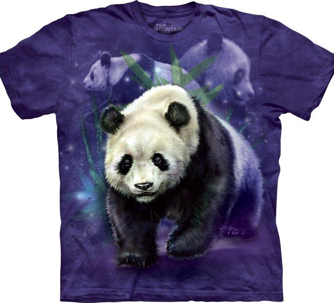 Panda kollázs póló