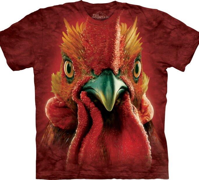 T-Shirt Hahnkopf