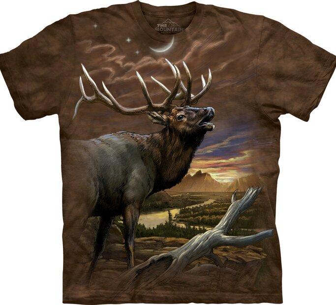 Elk At Dusk Adult