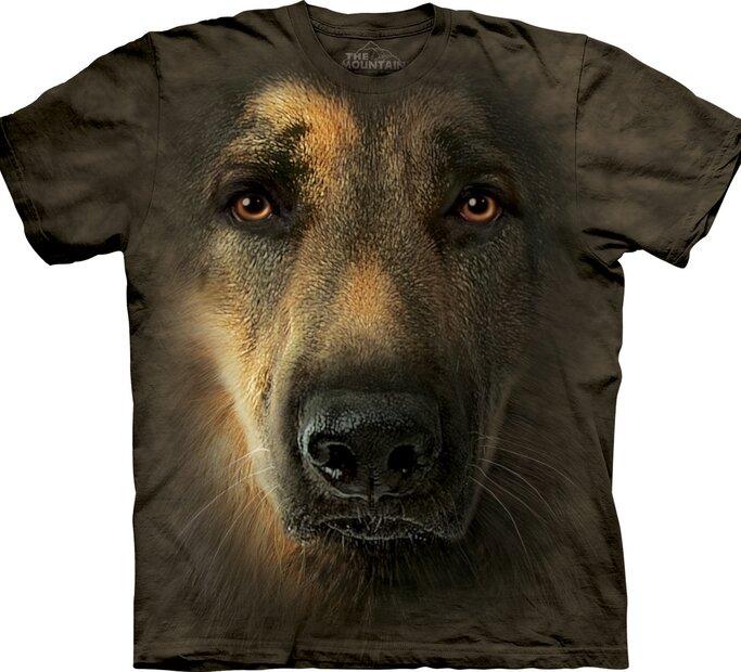 T-Shirt Deutscher Schäferhund-Porträt