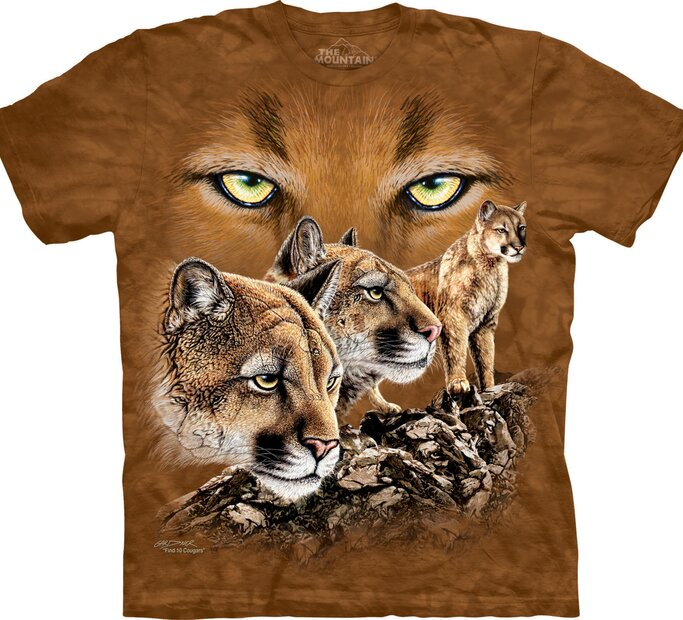 Find 10 Cougars Adult