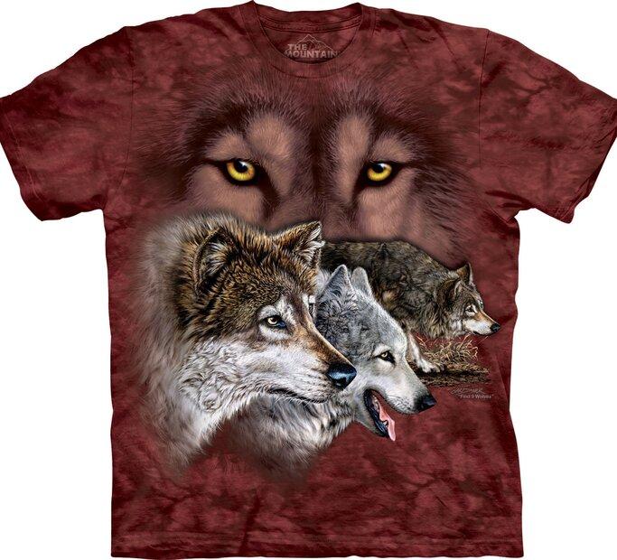 Tričko Najdi 9 vlků