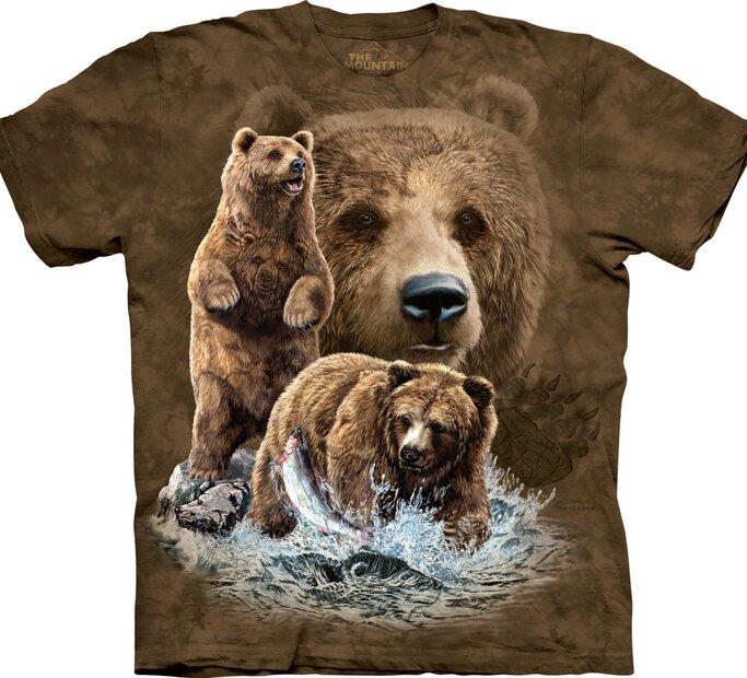 T-Shirt Finde 10 Bären