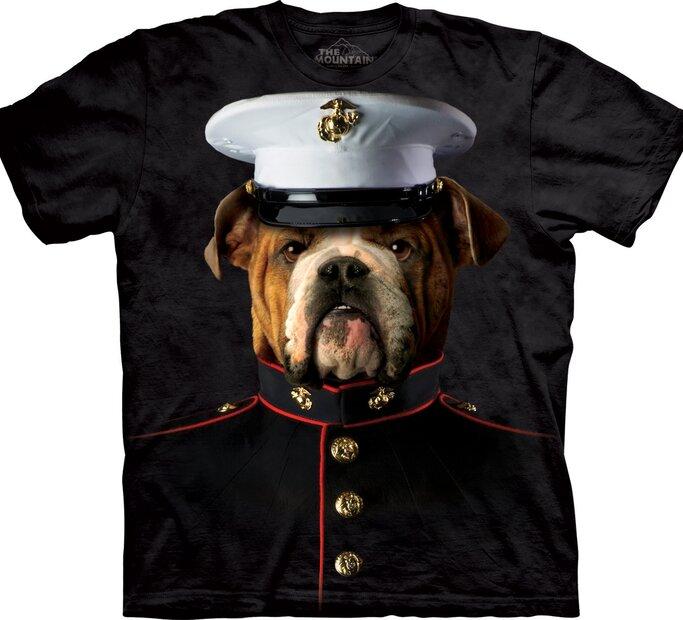 T-Shirt Bulldogge Marine