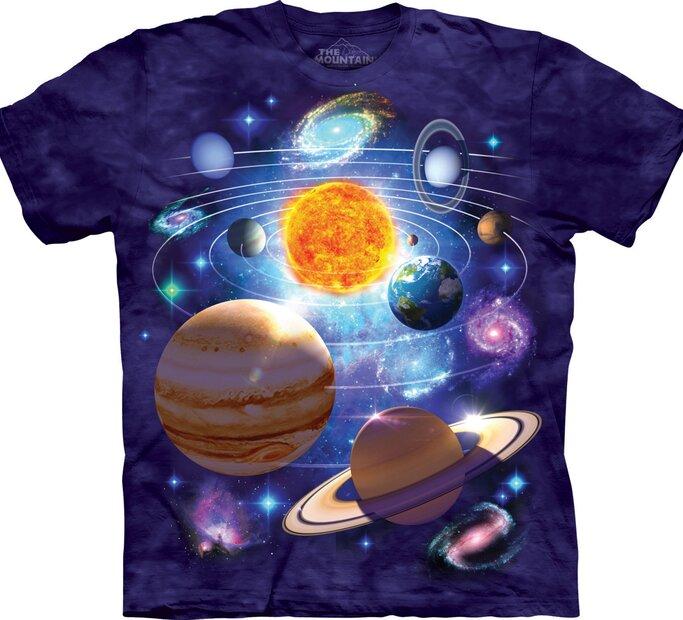 T-Shirt Sonnensystem 2