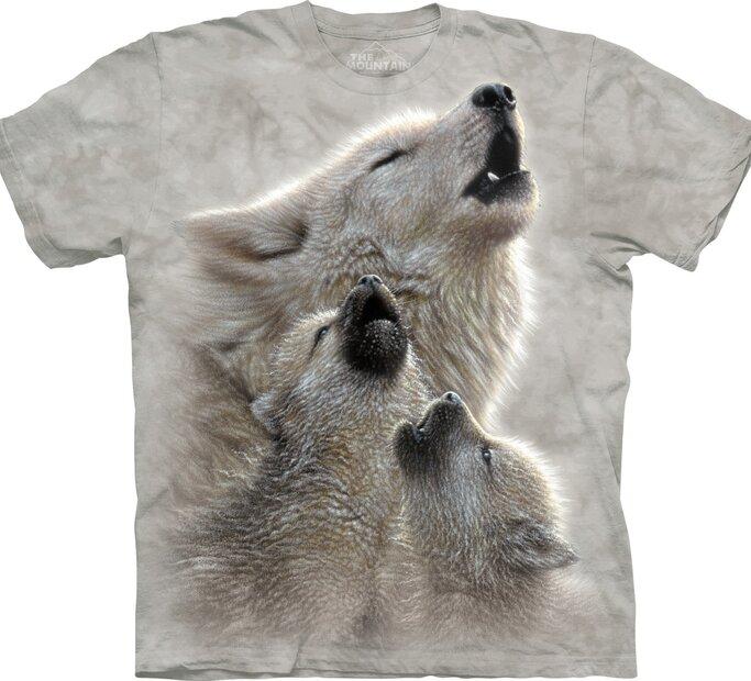 Éneklő farkasok gyermek póló