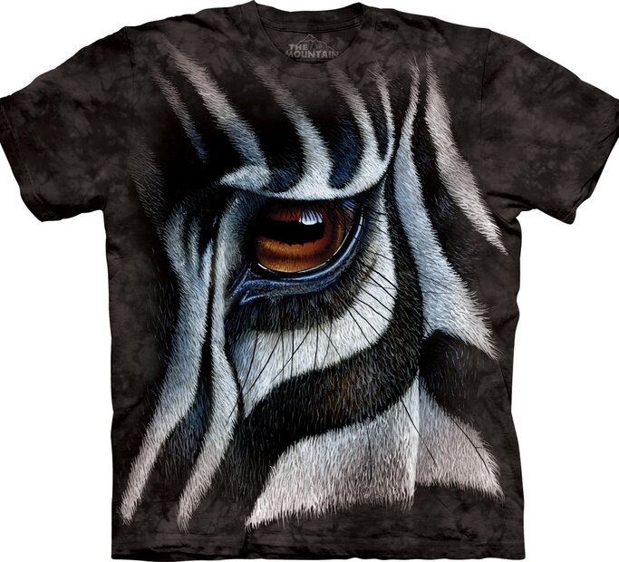 T-Shirt Zebrasauge
