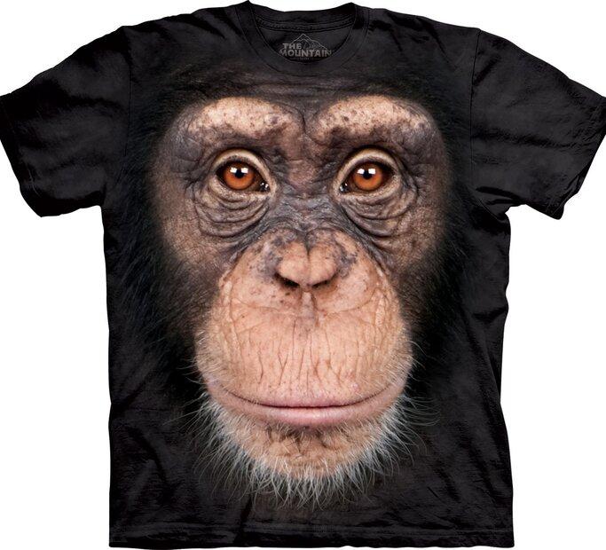 Tričko Obličej opice
