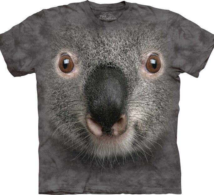 Gray Koala Face Adult
