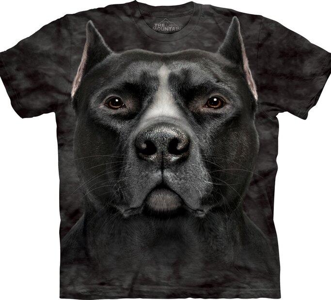 T-Shirt Schwarzer Pitbull