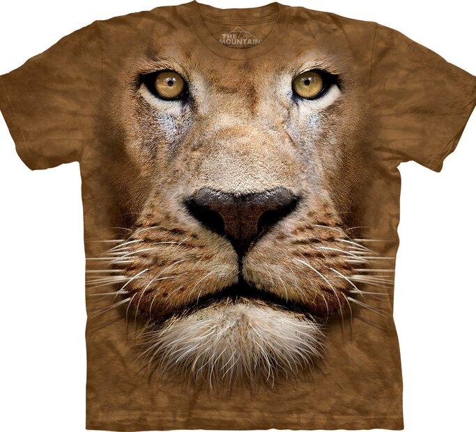 T-Shirt Löwengesicht