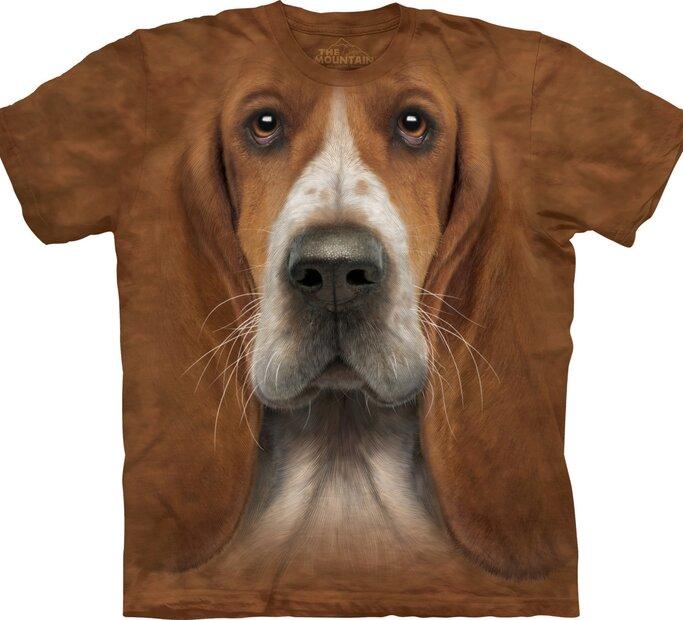 Bassett Hound Dog Head Adult