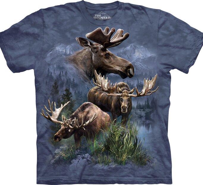 T-Shirt Elchtier-Collage