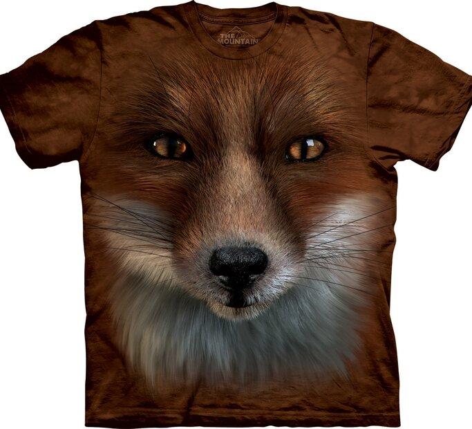 Tričko Obličej lišky
