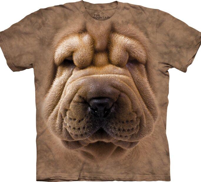 Tričko Obličej Shar Pei