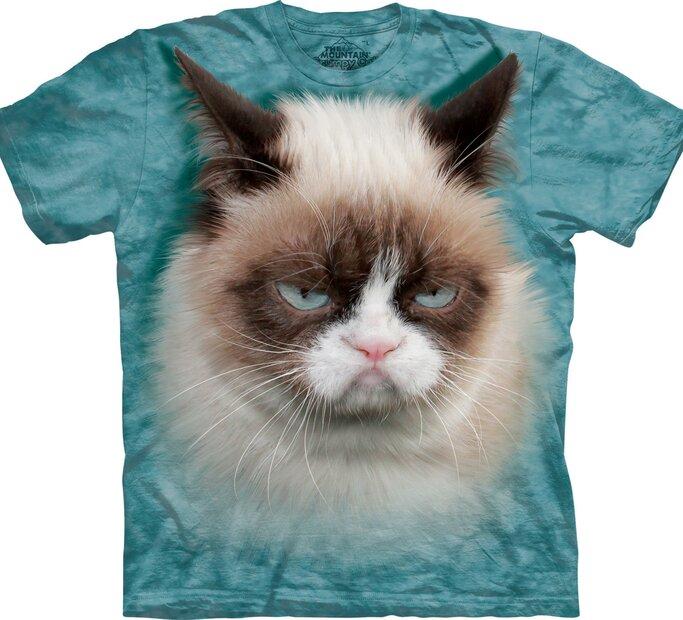 Tricou Grumpy cat