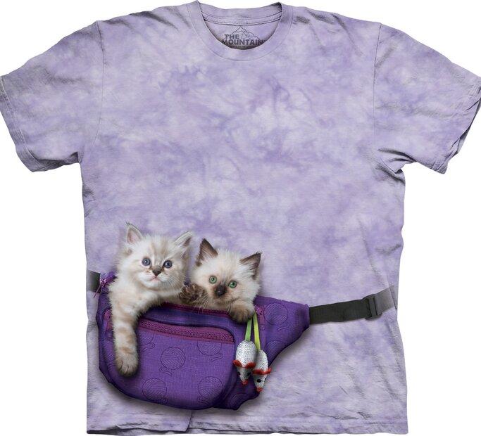 Cicák a deréktáskában póló