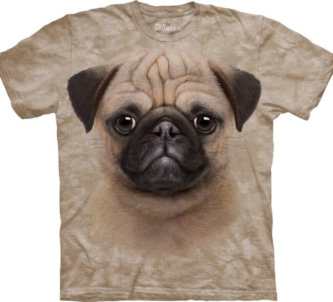 Tričko Mopslík šteniatko