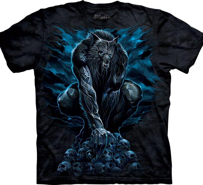 T-Shirt gespenstischer Werwolf