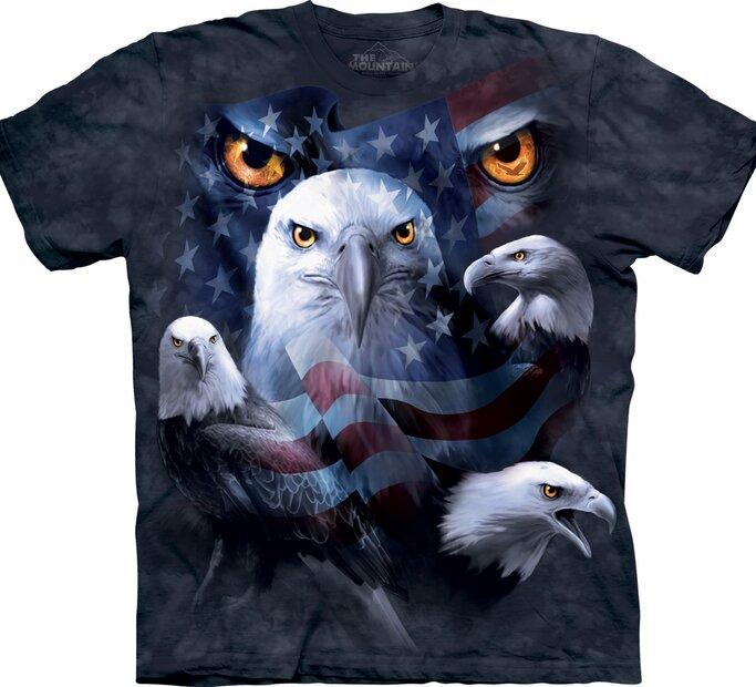 Tričko Mesačné oči orla