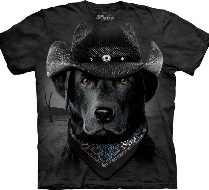 T-Shirt Cowboy Labrador