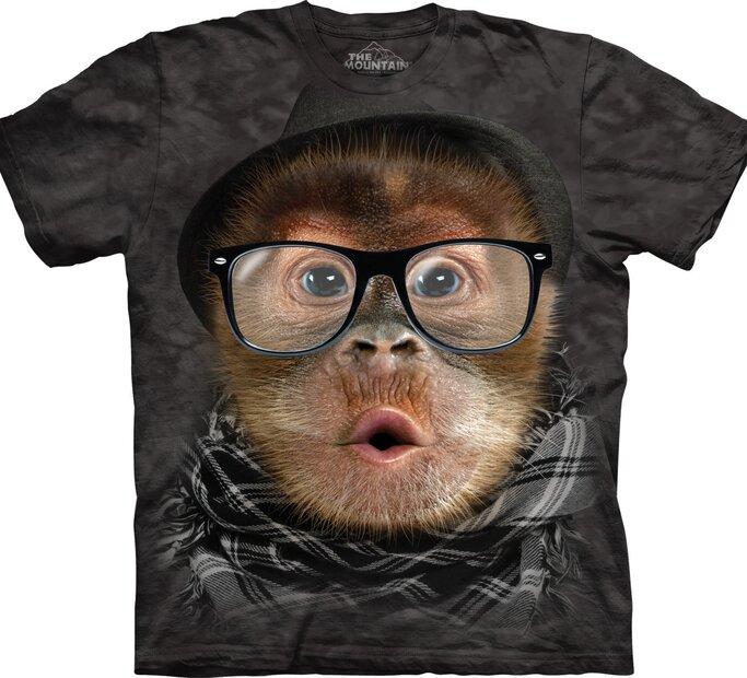 Hipster Orangutan Baby