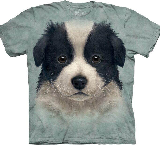 T-Shirt Border Collie Welpe