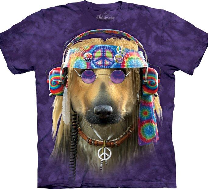 Tričko Hippie Pes