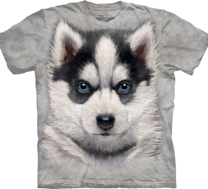 T-Shirt Siberian Husky Welpe