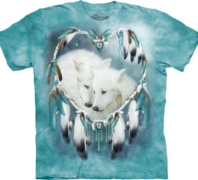 T-Shirt Wolf Liebe