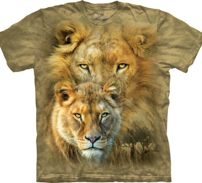 T-Shirt Safari Löwe