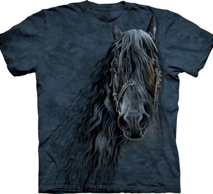T-Shirt Friesenpferd