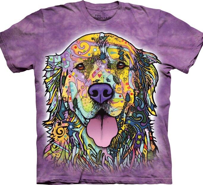 T-Shirt Russo Golden Retriever