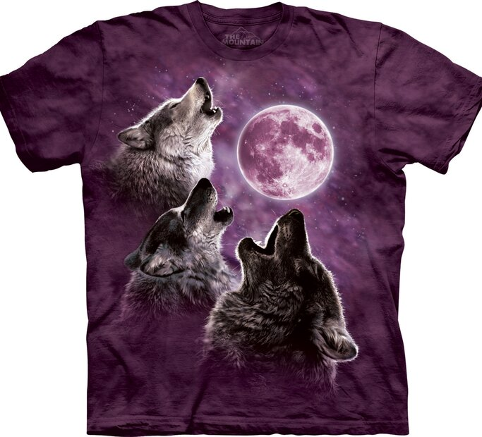 3 Wolf Moon Purple