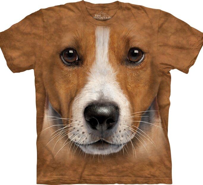 T-Shirt Gesicht Jack Russell Terrier