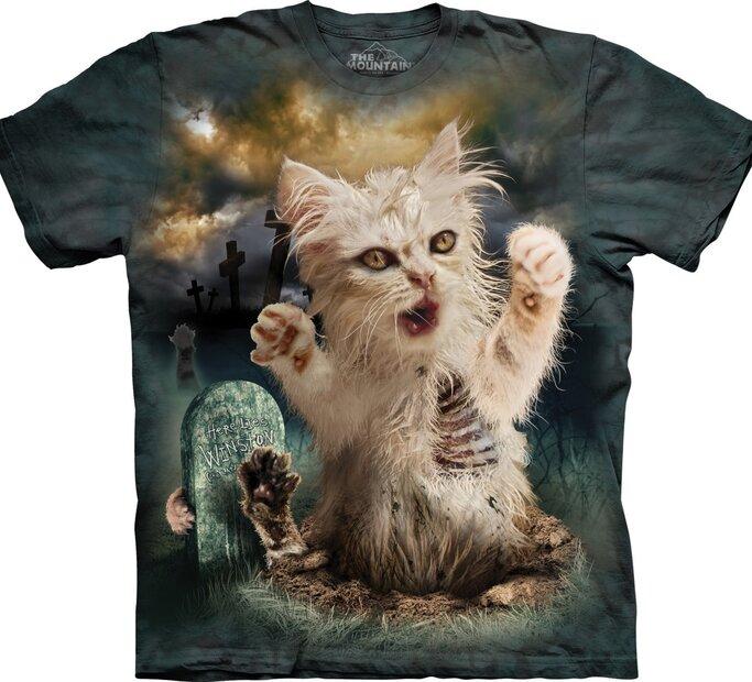 Tričko Zombie mačka