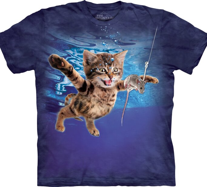 T-Shirt Katze und Maus