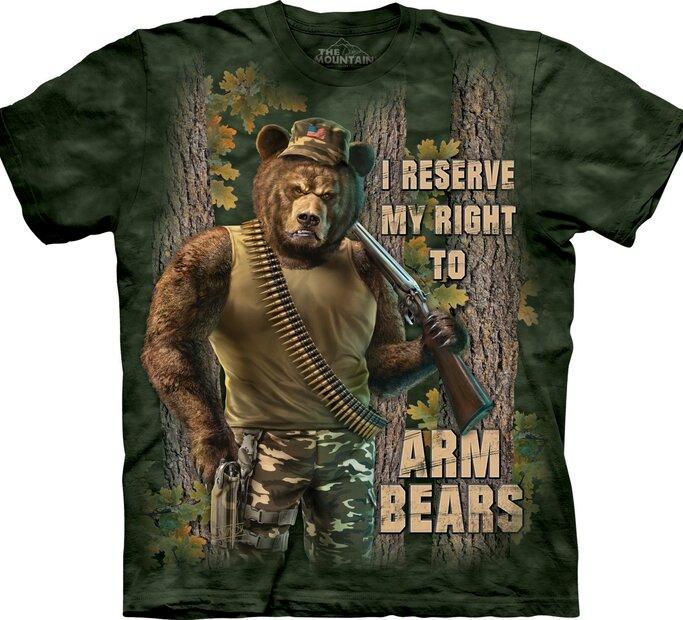 Felfegyverzett medvék póló