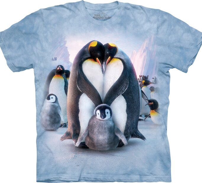 T-Shirt Pinguinfamilie