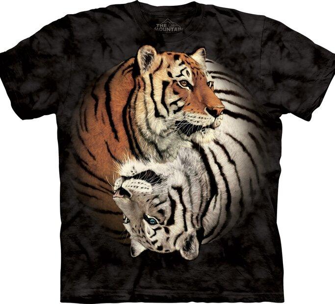 Jin-jang tigrisek póló
