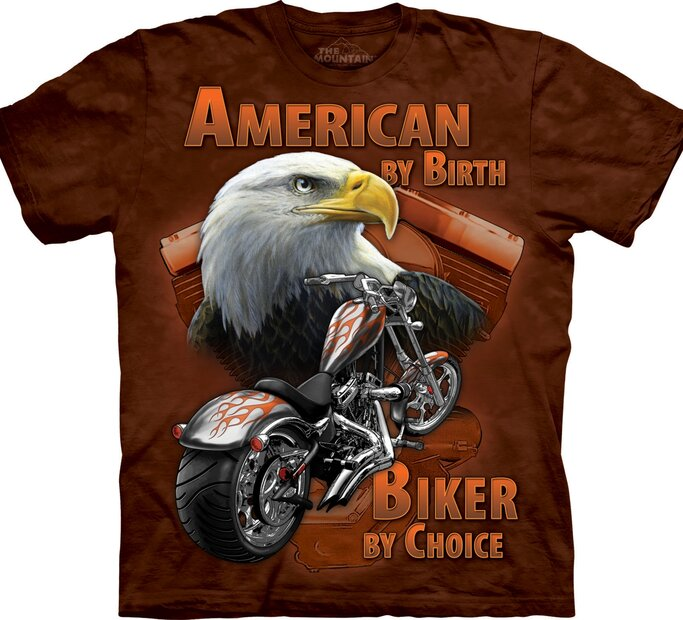 Tričko Rodení Američani