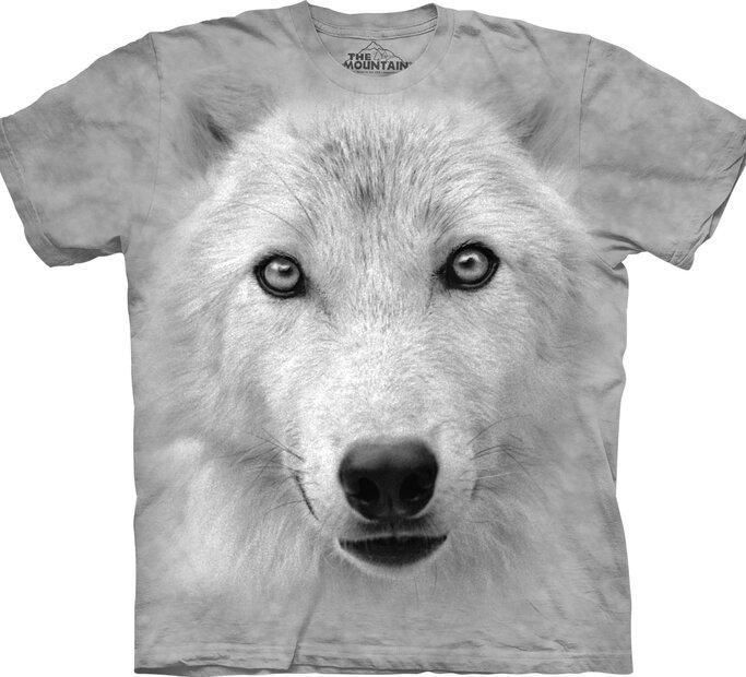 T-shirt White Wolf