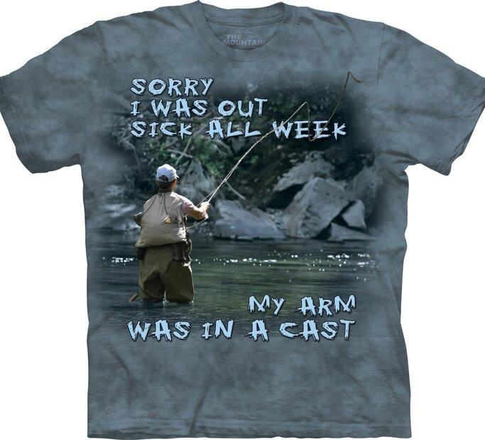 Tričko Rybaření