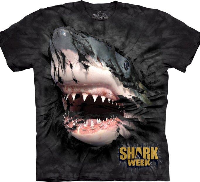 Shark Week Breakthru T Shirt