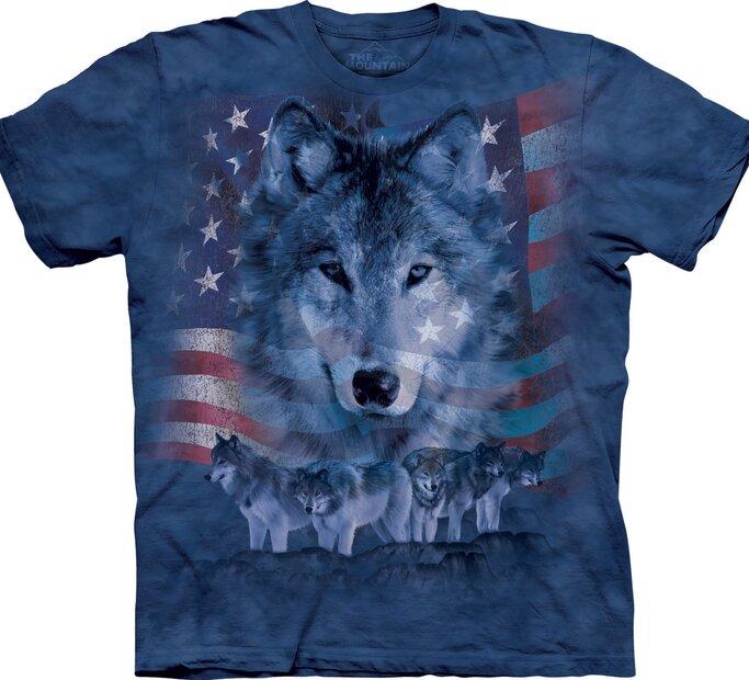 Patriotic Wolf Pack Adult