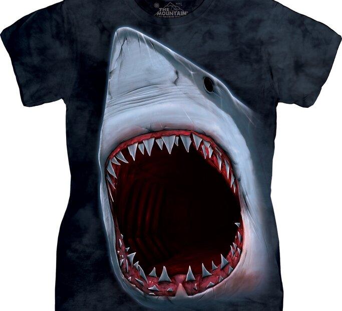 Dámské tričko Zuby žraloka