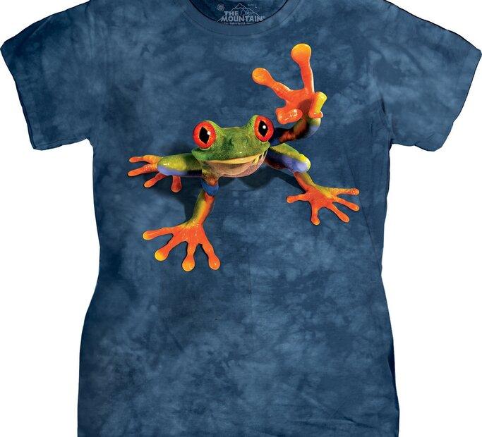 Damen T-Shirt Laubfrosch Viki