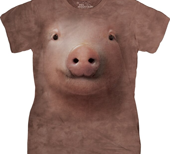 Dámske tričko Prasiatko
