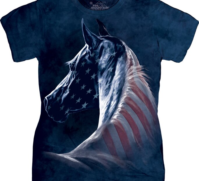 Patriotic Horse Head
